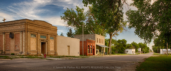 Main Street, Wood Lake, NE